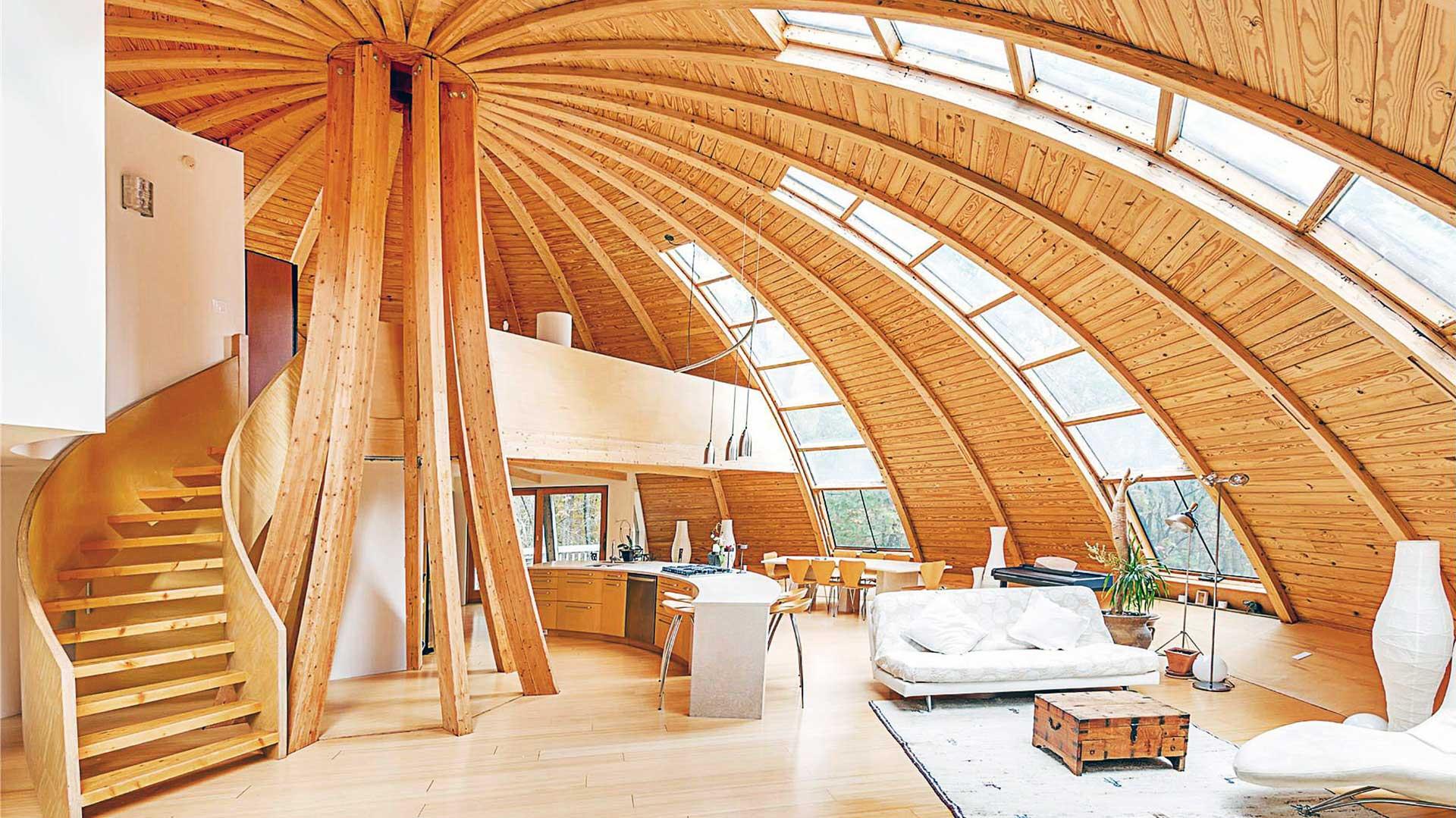 dom pasywny z drewna